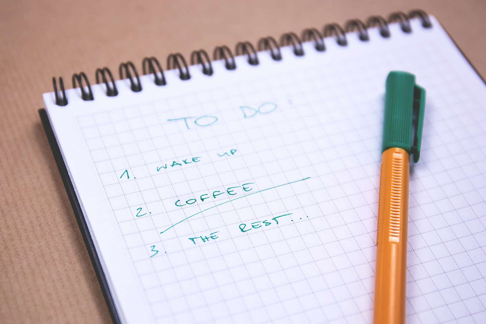 Productivity Tip #2 - Make Lists